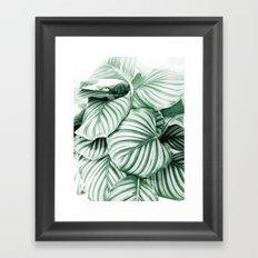 Long embrace Framed Art Print