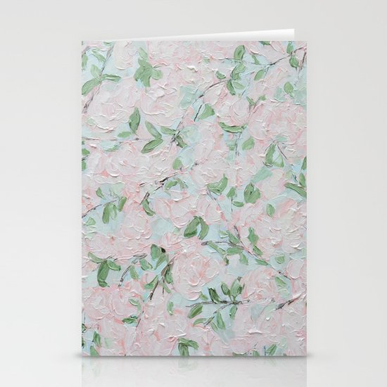 April Blooms Stationery Cards