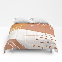 clay & sand Comforters