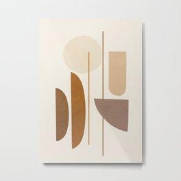 Abstract Minimal Art 07 Metal Print