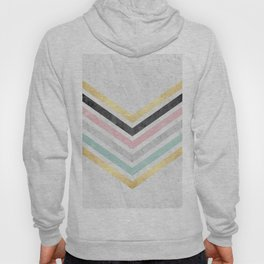 Gold and marble art VIII Hoody