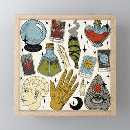 Fortune Teller Starter Pack Color Framed Mini Art Print