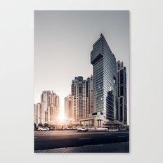 Dubai Sky Canvas Print