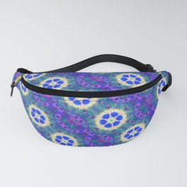 colorful modern pattern background Fanny Pack