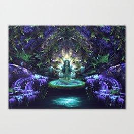 Convalescence - Visionary - Fractal - Manafold Art Canvas Print