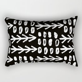 Hand Drawn Arrows Rectangular Pillow