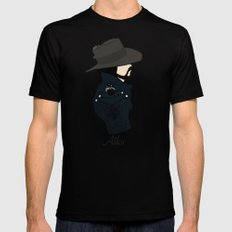 Athos MEDIUM Black Mens Fitted Tee
