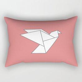 LOVE - Origami Bird Rectangular Pillow