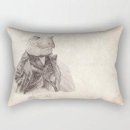 John T. Rex Rectangular Pillow