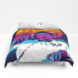 Scarface retro art Comforters