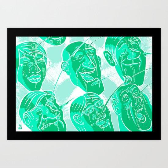 Mexan pornos Art Print