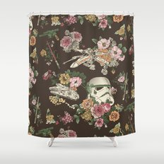 Botanic Wars Shower Curtain