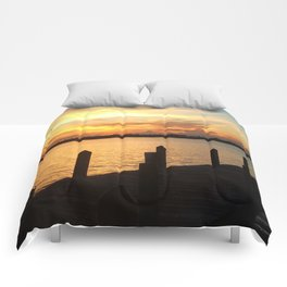 Dockside Dreaming Comforters