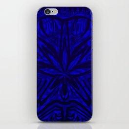 Bud buggin blue iPhone Skin