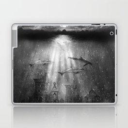dolphins, civilization. Laptop & iPad Skin