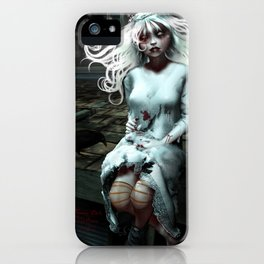 """Lacey Malice"" by MiaSnow and Trin iPhone Case"