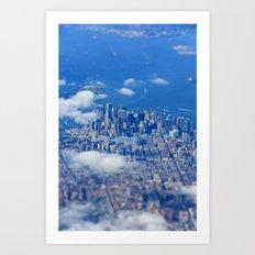 Tiny Manhattan Art Print