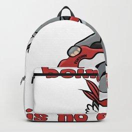 Rhino dance Gardenparty music cool kid gift Backpack