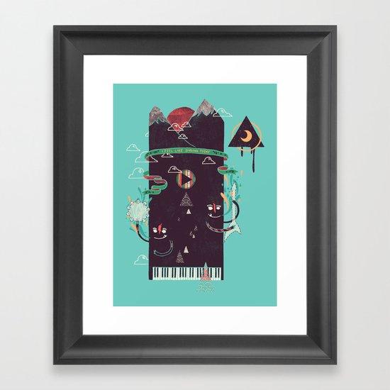 Play! Framed Art Print