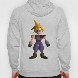 Cloud Low Poly - Final Fantasy VII Hoody