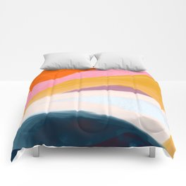 Let Go - no.36 Shapes and Layers Comforters