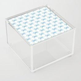 Ocean Blue Crab Acrylic Box