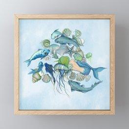 Atlantis Underwater World Framed Mini Art Print