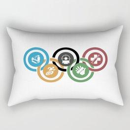 Zombie rings! Rectangular Pillow