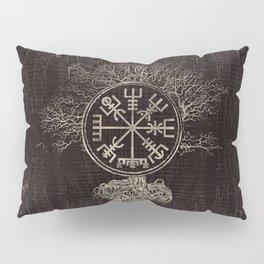 Vegvisir  and Tree of life  -Yggdrasil Pillow Sham