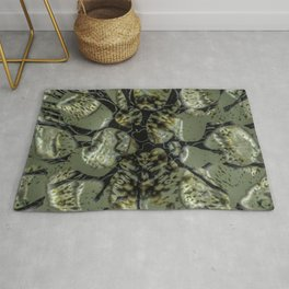 Waifs - Cracking through W of Alphabet collection Rug
