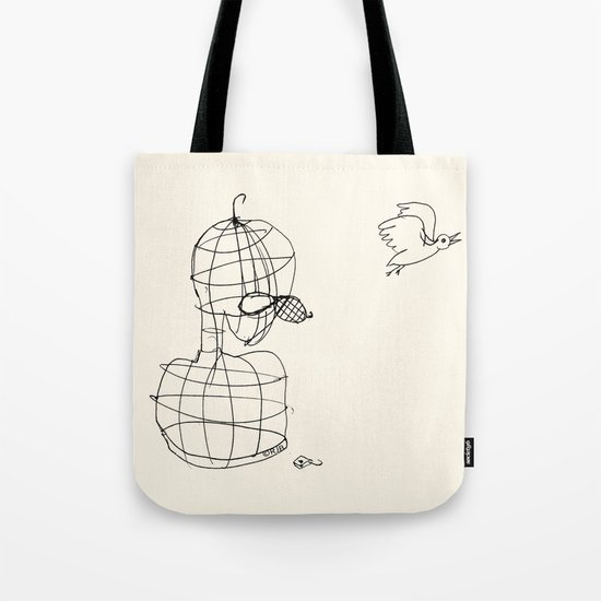 This Bird Has Flown. Tote Bag