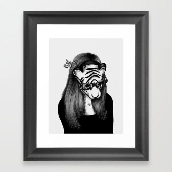 Peculiar Framed Art Print