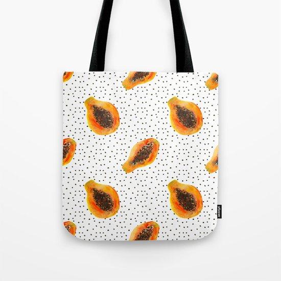 Papaya vibes  Tote Bag
