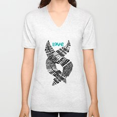 United Love Unisex V-Neck