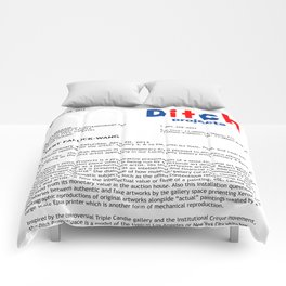 UMOCA Press Release (Page 1) Comforters