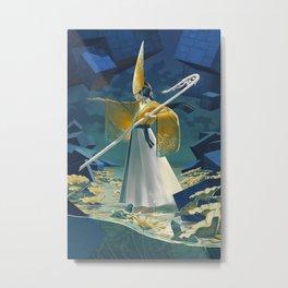 Virtues Series: Temperance, The Wise Mage Metal Print