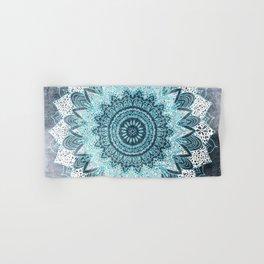 BOHOCHIC MANDALA IN BLUE Hand & Bath Towel
