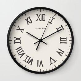 Roman Numeals Wall Clock