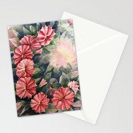 Pink Petunias Stationery Cards