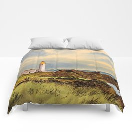 Turnberry Golf Course Scotland 9th Tee Comforters