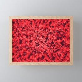 Fiery Red Framed Mini Art Print