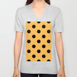 Polka Dots | Cheetah Unisex V-Neck
