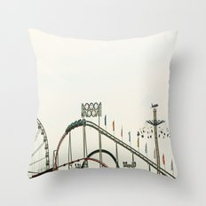 Funfair Duesseldorf Throw Pillow