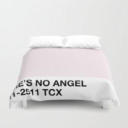 she's no angel Duvet Cover