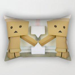 Danbo Take Two Rectangular Pillow