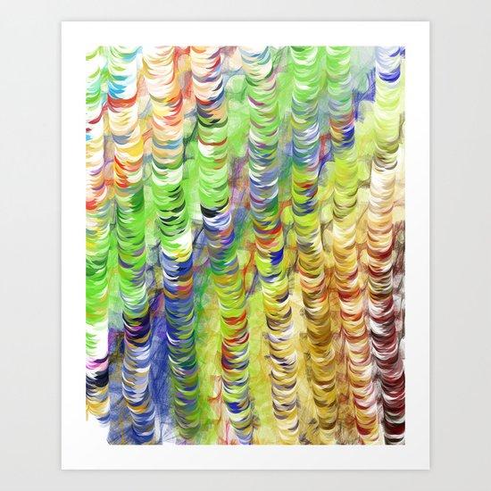 Bubbel Art Print