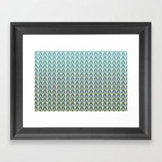 Zig & Zag Framed Art Print