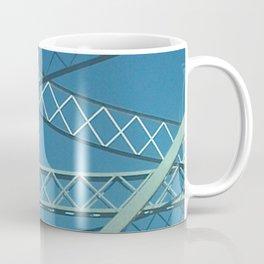 Old Tappan Zee Bridge over the Hudson River in Tarrytown New York Coffee Mug