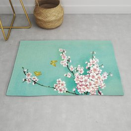 Dreamy cherry blossom Rug