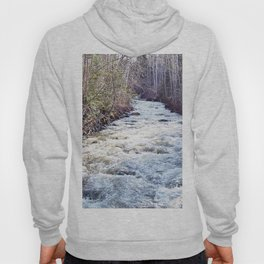 White Water in the Forest Hoody